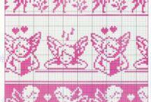 Fée-fairy-Ange-Légende-point de croix-cross stitch / mes créations sur Blog : http://broderiemimie44.canalblog.com/ point de croix - cross stitch - broderie - embroidery