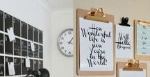 Home office | Deco Coaching | Decoración / Ideas para diseñar y decorar tu oficina en casa. Decoración home office, decoración espacio de trabajo. Pura inspiración para crear tu espacio de trabajo.