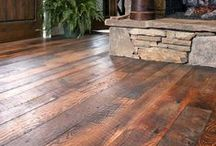Reclaimed Wood STYLES / Our unique, reclaimed and antique wood flooring is available in many wood species...AND in several unique surface STYLES—like these.