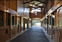 Residence -  Tryon, NC / Private Residence, Green River Farm, Tryon NC. Custom residence and working, functional barn within this custom built equestrian facility. Reclaimed antique wood flooring and beams by #wholeloglumber.