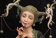 Inspirational Art Dolls