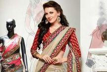 Sari Pas Cher / Andaaz Mode présente concepteur saris collection à un prix abordable, comme saris en mousseline de soie, Georgette saris, saris de soie http://www.andaazfashion.fr/womens/sarees/newarrival