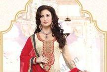 Georgette Suit / http://www.andaazfashion.fr/salwar-kameez