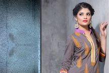 Ensemble Churidar Salwar Kameez / Shop online for latest designer Churidar Salwar Kameez online for women at best price at Andaaz Fashion http://www.andaazfashion.fr/salwar-kameez/churidar-suits