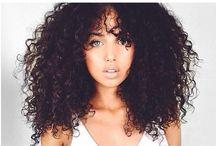 Curly Cues / My natural hair