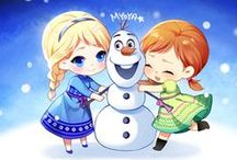 """Frozen&Otros"" / by Solsticio"