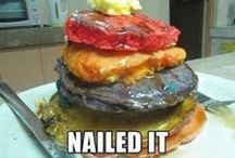 Nailed it! Pinterest fails. / I love to laugh and these Pinterest fails have my daughters and I rolling on the floor...