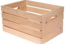 Fa láda - Wood chest