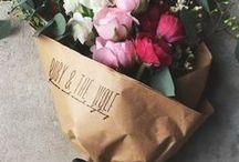 Virág csokor - Flower bunches