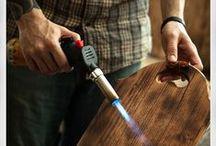 Fa felület kezelés - Wood surface treatment