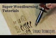 Fa égetés - Wood buirning
