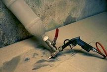 Homokfúvás - Sand blaster