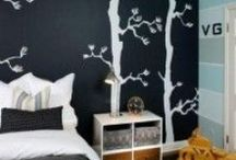 Wall Decor #Ideabook / Often, all it takes to transform a room from good to stop-you-in-your-tracks gorgeous, is a little creativity. And walls are the perfect canvas to let your creative juices flow. Here's our selection of the best accent wall ideas we've seen so far.