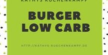 Burger - Low Carb / Burger Low Carb? Ja, das geht, wie Ihr hier seht. / Wanna have some healthy Low Carb Burger?