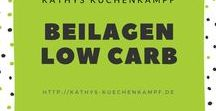 Beilagen - Low Carb / Beilagen gibt's auch in Low Carb / Side dishes Low Carb