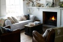 Home: Living Spaces / Inspiration for our living rooms, lounges, nook & crannies,  and so much more