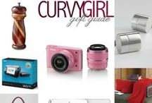 Curvy Girl Gift Guide / Ideas on what to give for holidays and special occasions.
