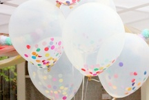 """"""" It's my party""""  /  Ideas that give me inspiration for beautiful & romantic events & parties / by Annette Kessler"""