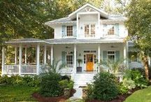 """In my Dreams"""" / Romantic country, shabby chic homes that I love! / by Annette Kessler"""