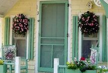 {Cottage garden shed} / Our cottage Garden Shed ideas... / by Annette Kessler