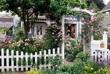 Welcome to my Cottage Garden...     /  How I want my Garden to look... / by Annette Kessler