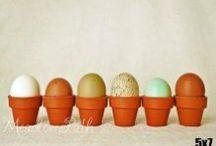 Eggstravaganza! / White eggs, blue eggs, brown eggs...  Blown eggs, painted eggs, Easter eggs too!