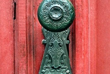 Open my Door / Interesting, color, decorated doors and entrances.  / by Maggs Giraldo