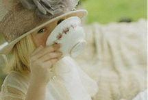 little Girls & Their Tea Parties / Fun tea parties for my Grandaughters!! / by Annette Kessler
