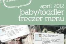 Food: Recipes For Babies & Toddlers