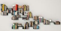 Book shelves and Libraries. / Books to visit and books to keep.