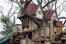 tree houses!!!