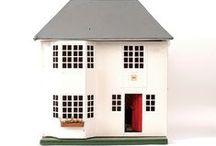 dollhouses + miniatures