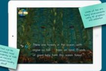 Ocean Forests — Bright World eBooks / A peek into Bright World eBooks' apps — creative, engaging, and immersive reading experience for children.