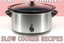 Slow Cooker Meals / Slow Cooker meals are a life saver during lacrosse and track season at my house.  Spring is filled with buyers, sellers, laundry and a lot of driving.  So I shop in bulk for the season and live off my slow cooker.