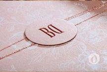 Krása svatebních oznámení / Beauty wedding invitations - Created by Décorista