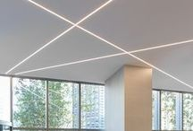 PureEdge Lighting: Wanda Vista Project / TruLine .5A adds an illuminated glow to the interior of the Wanda Vista Center in Chicago, Illinois