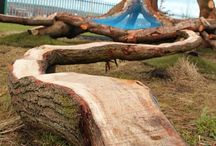 Diy garden beds and playgrounds