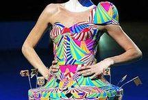 Crazy fashion and art