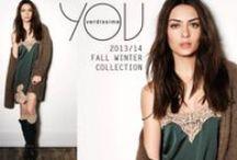 YOU Fall Winter 2013/2014 / Brand di abbigliamento e beachwear pensato per una donna dinamica e di carattere, eclettica e innovativa. You predilige la tendenza e lo stile, seguendo sempre le novità del momento!