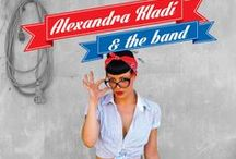 """POSTERS / Posters created for """"Alexandra Kladi & The Band"""""""
