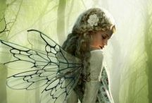 Faeries / Paintings, drawings, etc. Pretty pics about faeries.