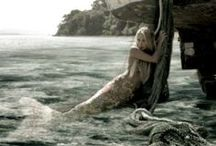 Mermaids / Painting, drawings, photoart, etc. Pretty pics about mermaids.