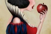 Like a Fairytale / Disney art, fanart, Once Upon a Time, princess, cute, funny, etc.