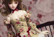 Lovely BJD Dolls / Pretty bjd (bal joint dolls) and their lovely clothes. <3