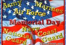 Memorial Day-Fourth of July-Patriotic Activities-Quotes-Crafts