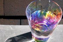 Kaleidoscope | Prism | Spectrum / patterns, colors from prisma & kaleidoscope