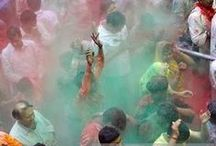 The Holi Festival / We are sharing our favourite photos of India to celebrate the upcoming Holi Festival