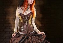 Steampunk inspiration / Lovely steampunk inspired ideas and fashions