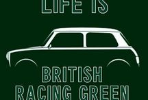 British Racing Green / Green   Vert   Groen   couleurs