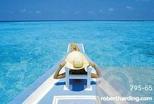 Everyone loves a bit of luxury... / Relax while we evoke lavish spas, clear blue waters, old world opulence, haute cuisine and hours spent lounging on deserted, white sand beaches. These are worlds of indulgence with no expense spared – but anyone can taste the good life through our images...